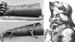 """Γκετς φον Μπερλιχίνγκεν: Η σιδηρά χειρ… Ο """"βιονικός"""" ιππότης-πολεμιστής"""