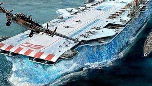Τα «παγωμένα» αεροπλανοφόρα: Μια τρελή ιδέα του Β' Παγκοσμίου