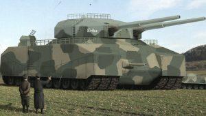 Το άρμα-μεγαθήριο των 1.000 τόνων που θα κέρδιζε τον Β' Παγκόσμιο Πόλεμο