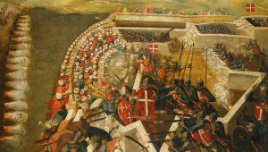 Οχυρό Αγ. Έλμου: Οι στρατιώτες του  Άγιου Ιωάννη ταπεινώνουν τον Σουλεϊμάν