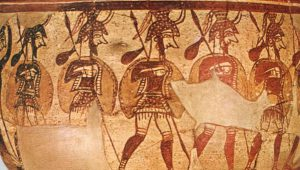 Οι πολεμιστές της Ιλιάδας… Μυρμιδόνες και οπλίτες στον τρωικό κάμπο