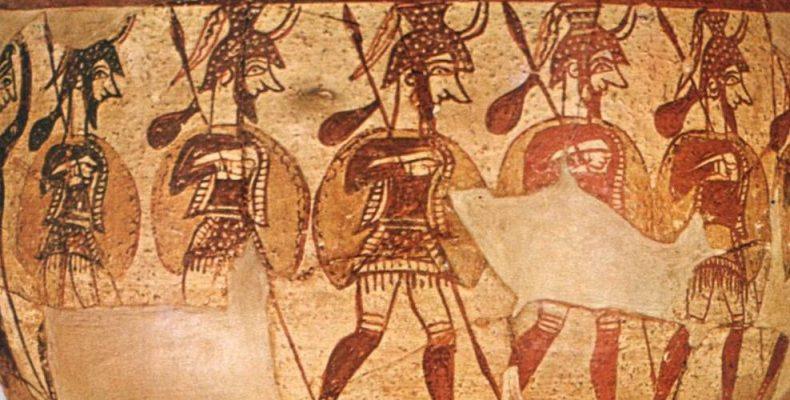 Οι πολεμιστές της Ιλιάδας… Μυρμιδόνες και οπλίτες στον τρωικό ...