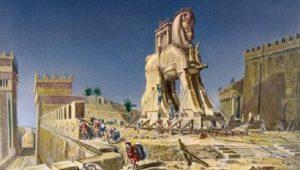 ΤΡΟΙΑ – Δούρειος Ίππος… Ένα ξύλινο άλογο ή πολιορκητική μηχανή;