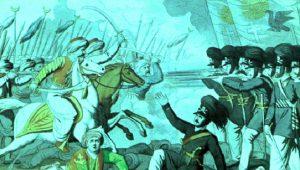 Χαϊδάρι: Το ελληνικό πεζικό κυνηγά με την λόγχη τους Τούρκους ιππείς…