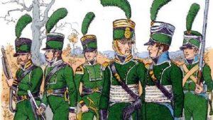 """Οι επίλεκτοι Γερμανοί Ελαφροί Πεζοί & """"Κυνηγοί"""" των Ναπολεόντειων Πολέμων"""