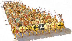 Στοίχος – Ομάδα μάχης… Το κύτταρο όλων των στρατών από την προϊστορία…