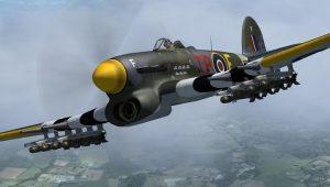 "Hawker Typhoon: Ο ""τυφώνας"" της RAF και Νέμεσις των panzer (vid.)"