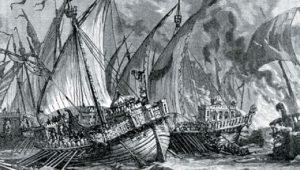 Η ναυμαχία του Κορινθιακού… Το στρατήγημα και ο αφανισμός των Σαρακηνών