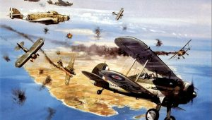 "Gloster Gladiator: Οι ηρωικοί ""Μονομάχοι"" της Μάλτας κατά των Ιταλών (vid.)"