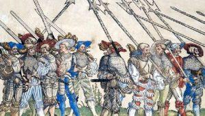 Πόλεμος Αλατιού: Επαίσχυντη καταστολή από τους μισθοφόρους του πάπα