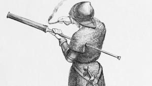 """Τα πυροβόλα όπλα των Βυζαντινών… Πρώιμα """"τυφέκια"""" και """"κανόνια"""""""