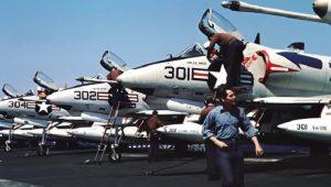 """USS """"Shangri La"""": Σπάνιο βίντεο με σπάνια αεροσκάφη στο κατάστρωμα"""