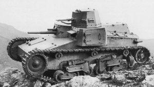 """Τα άρματα του Μουσολίνι… Προσπάθεια αλλά """"κακής ποιότητας… χάλυβας"""" (ΦΩΤΟ)"""