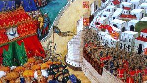 Οι Ιππότες του Αγίου Ιωάννη εξευτελίζουν τον Μωάμεθ Β' Πορθητή