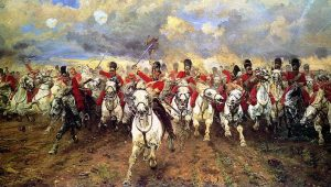 """""""Με την σπάθη από το σαγόνι ως τα δόντια…"""" Οι Scots Greys στο Βατερλό (vid.)"""