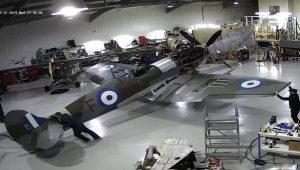 Το ιστορικό Spitfire MJ755 της ΠΑ επανέρχεται σε κατάσταση πτήσης (vid./photo)