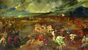 Ρωσική προδοσία, επιθετική επιστροφή, μεγάλη νίκη κατά των Τούρκων