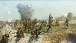 Πριν την επίθεση… Το προαίσθημα του στρατιώτη, το θέλημα Του Θεού