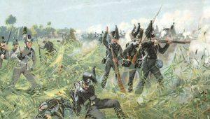 """Το """"Μαύρο Σώμα"""" στη μάχη του Βατερλό… Γερμανοί εχθροί του Βοναπάρτη"""