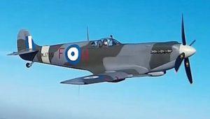 Πρώτη δοκιμαστική πτήση του Supermarine Spitfire MJ755 της ΠΑ (vid./pics)