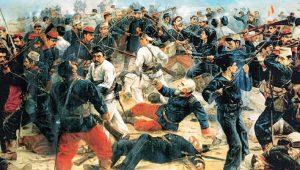 """Πεζικό Περού, """"Πόλεμος Ειρηνικού""""… Ένας αξιωματικός ανά 1,4 στρατιώτες!"""