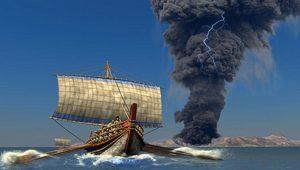 Γύρω στο 1650 π.Χ. η έκρηξη του ηφαιστείου της Θήρας… λένε επιστήμονες