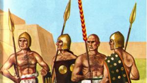 Σουμέριοι – Μεσοποταμία: Φάλαγγα την 3η χιλιετία π.Χ… Όπως οι Έλληνες;