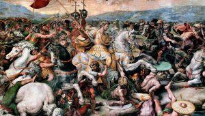 Βερόνα 312 μ.Χ. Ο Μέγας Κωνσταντίνος ηγέτης-κυρίαρχος στο πεδίο της μάχης