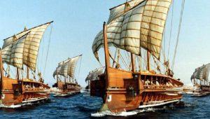 """Ναυτοσύνη η ελληνική! Η ναυμαχία στην Σαλαμίνα άριστα """"μελετημένη"""", το μυστικό!"""