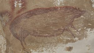 Η αρχαιότερη σπηλαιογραφία ζώου στον κόσμο, ηλικίας τουλάχιστον 45.500 ετών